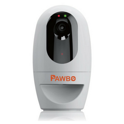 Pawbo Wi-Fi Pet Treat Cam & Treat Dispenser on white background