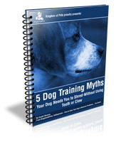 5 Dog Training Myths Book Cover