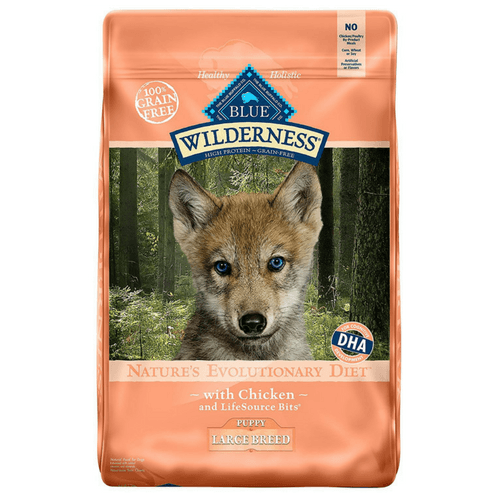 24 Pound Bag Blue Buffalo Wilderness High Protein Dry Puppy Food