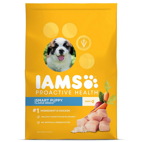 34.6 Pound Bag Of IAMS PROACTIVE HEALTH Puppy Dry Dog Food