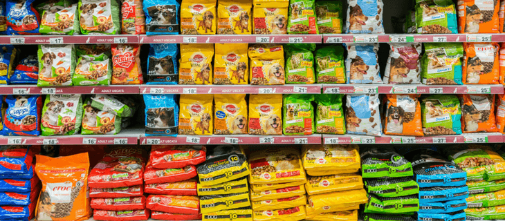 Commercial Dog Food Image