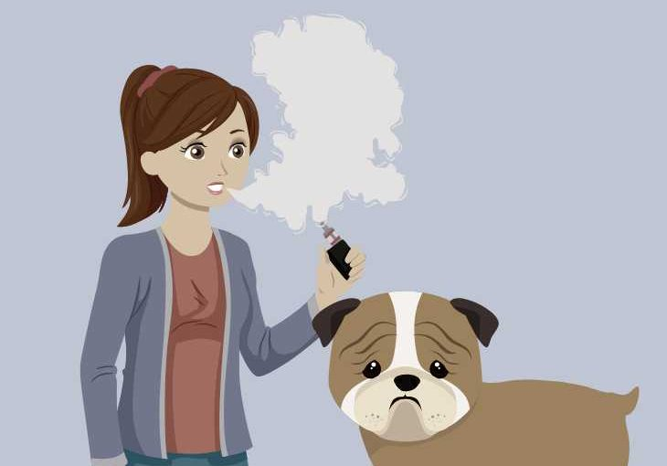 Why is vape smoke bad for your dog