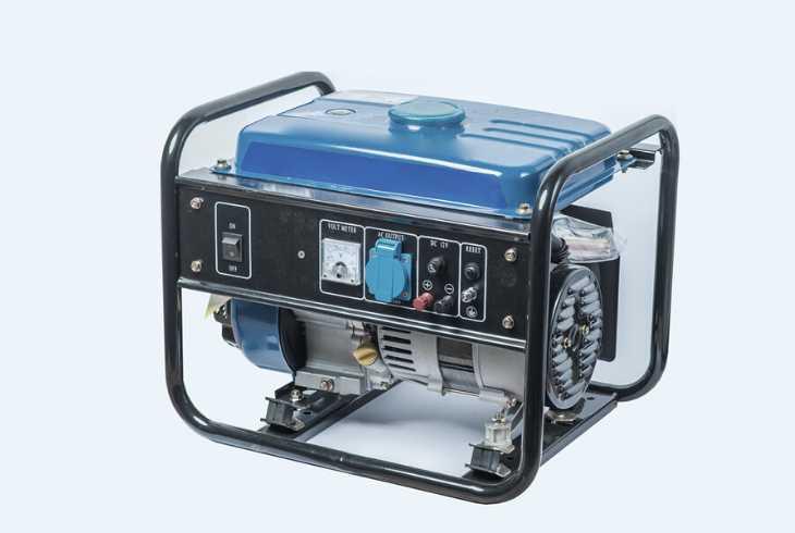 Gasoline home generator